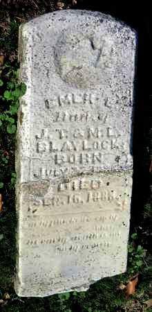 BLAYLOCK, EMER E - Sequoyah County, Oklahoma   EMER E BLAYLOCK - Oklahoma Gravestone Photos