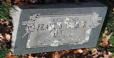 CHRISTIAN WALKER, MARY FRANCES - Sequoyah County, Oklahoma | MARY FRANCES CHRISTIAN WALKER - Oklahoma Gravestone Photos