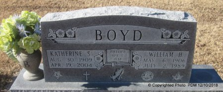 BOYD, WILLIAM H - Sequoyah County, Oklahoma | WILLIAM H BOYD - Oklahoma Gravestone Photos
