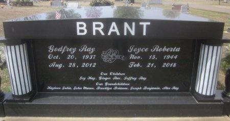 BRANT, JOYCE ROBERTA - Sequoyah County, Oklahoma | JOYCE ROBERTA BRANT - Oklahoma Gravestone Photos