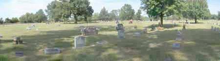 *BUFFINGTON CEMETERY, OVERVIEW - Sequoyah County, Oklahoma | OVERVIEW *BUFFINGTON CEMETERY - Oklahoma Gravestone Photos
