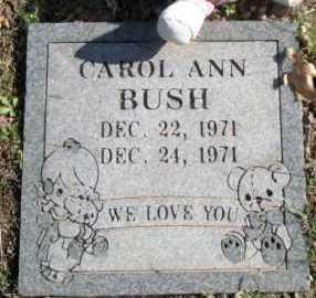 BUSH, CAROL ANN - Sequoyah County, Oklahoma | CAROL ANN BUSH - Oklahoma Gravestone Photos
