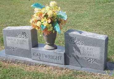 CARTWRIGHT, VIRGIL RAY - Sequoyah County, Oklahoma | VIRGIL RAY CARTWRIGHT - Oklahoma Gravestone Photos