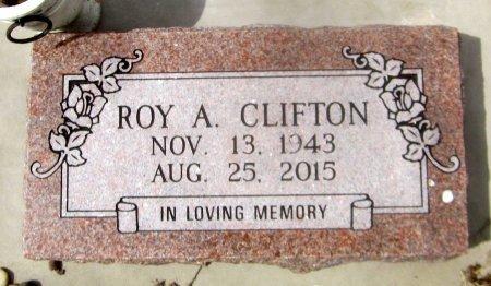 CLIFTON, ROY A - Sequoyah County, Oklahoma   ROY A CLIFTON - Oklahoma Gravestone Photos