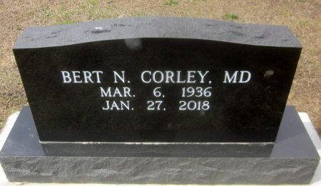 CORLEY, BERT N, MD - Sequoyah County, Oklahoma | BERT N, MD CORLEY - Oklahoma Gravestone Photos