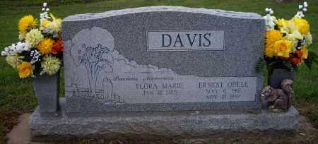 DAVIS, ERNEST ODELL - Sequoyah County, Oklahoma | ERNEST ODELL DAVIS - Oklahoma Gravestone Photos