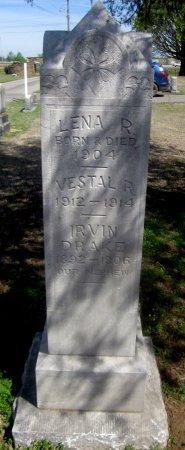 DRAKE, VESTAL R - Sequoyah County, Oklahoma | VESTAL R DRAKE - Oklahoma Gravestone Photos