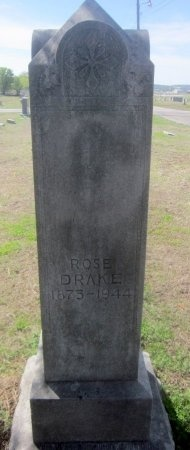 "DRAKE, ROSETTA ""ROSE"" - Sequoyah County, Oklahoma | ROSETTA ""ROSE"" DRAKE - Oklahoma Gravestone Photos"
