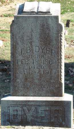 DYER, J  B - Sequoyah County, Oklahoma | J  B DYER - Oklahoma Gravestone Photos