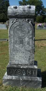 DYSART, PEARL - Sequoyah County, Oklahoma | PEARL DYSART - Oklahoma Gravestone Photos