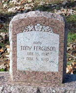 FERGUSON, TONY - Sequoyah County, Oklahoma | TONY FERGUSON - Oklahoma Gravestone Photos