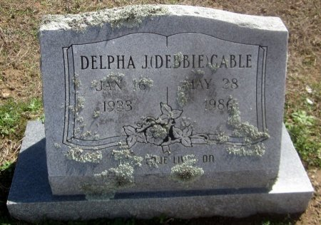 "GABLE, DELPHA J ""DEBBIE"" - Sequoyah County, Oklahoma 