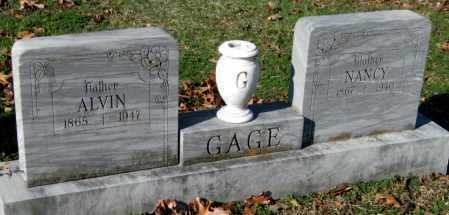 GAGE, NANCY - Sequoyah County, Oklahoma | NANCY GAGE - Oklahoma Gravestone Photos