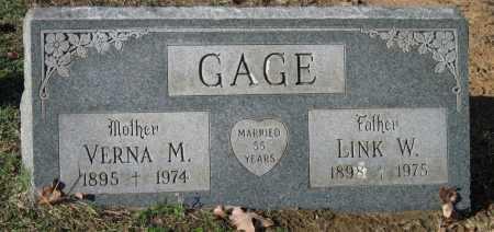 KING GAGE, VERNA M - Sequoyah County, Oklahoma | VERNA M KING GAGE - Oklahoma Gravestone Photos