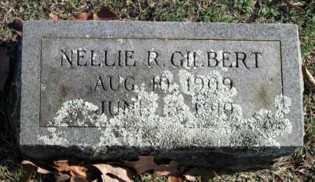 GILBERT, NELLIE R - Sequoyah County, Oklahoma | NELLIE R GILBERT - Oklahoma Gravestone Photos