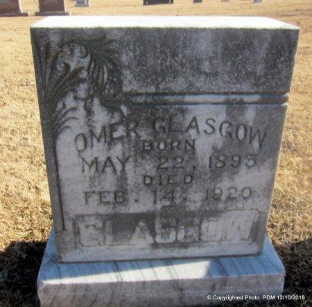 GLASGOW, OMER - Sequoyah County, Oklahoma   OMER GLASGOW - Oklahoma Gravestone Photos