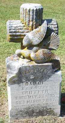 GRIFFETH, MARY MAY - Sequoyah County, Oklahoma | MARY MAY GRIFFETH - Oklahoma Gravestone Photos
