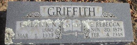 GRIFFITH, FREDERICK N - Sequoyah County, Oklahoma | FREDERICK N GRIFFITH - Oklahoma Gravestone Photos