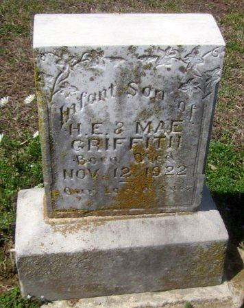 GRIFFITH, INFANT SON - Sequoyah County, Oklahoma | INFANT SON GRIFFITH - Oklahoma Gravestone Photos