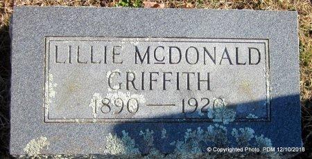 GRIFFITH, LILLIE - Sequoyah County, Oklahoma | LILLIE GRIFFITH - Oklahoma Gravestone Photos