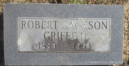 GRIFFITH, ROBERT JACKSON - Sequoyah County, Oklahoma | ROBERT JACKSON GRIFFITH - Oklahoma Gravestone Photos