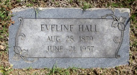 HALL, EVELINE - Sequoyah County, Oklahoma   EVELINE HALL - Oklahoma Gravestone Photos