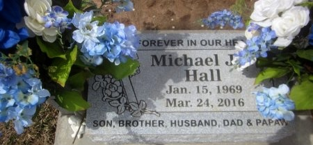 HALL, MICHAEL J - Sequoyah County, Oklahoma | MICHAEL J HALL - Oklahoma Gravestone Photos