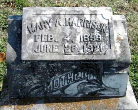 AMMONS HARRISON, MARY ANN - Sequoyah County, Oklahoma | MARY ANN AMMONS HARRISON - Oklahoma Gravestone Photos