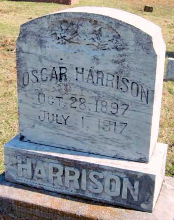 HARRISON, OSCAR - Sequoyah County, Oklahoma   OSCAR HARRISON - Oklahoma Gravestone Photos