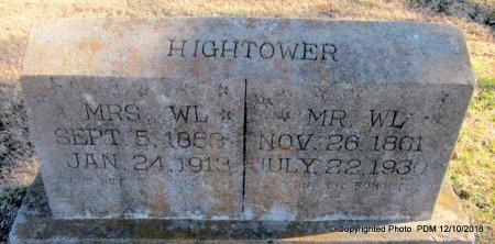 HIGHTOWER, COMILA ADELAIDE  (W L, MRS) - Sequoyah County, Oklahoma | COMILA ADELAIDE  (W L, MRS) HIGHTOWER - Oklahoma Gravestone Photos