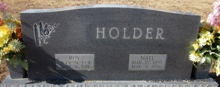 MCDONALD HOLDER, MAYE - Sequoyah County, Oklahoma | MAYE MCDONALD HOLDER - Oklahoma Gravestone Photos