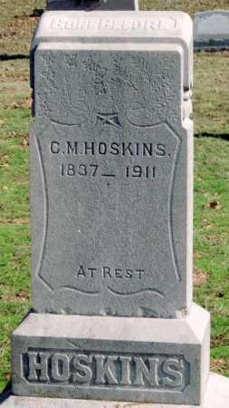 HOSKINS, C M - Sequoyah County, Oklahoma   C M HOSKINS - Oklahoma Gravestone Photos