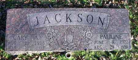 JACKSON, CARY A. - Sequoyah County, Oklahoma | CARY A. JACKSON - Oklahoma Gravestone Photos
