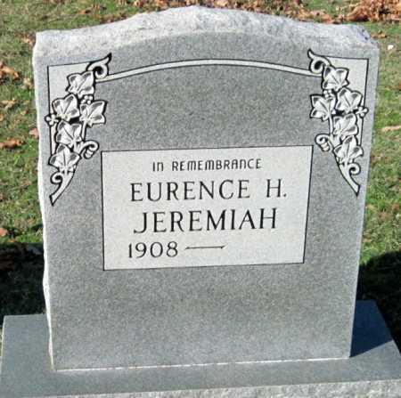 JEREMIAH, EURENCE H - Sequoyah County, Oklahoma | EURENCE H JEREMIAH - Oklahoma Gravestone Photos