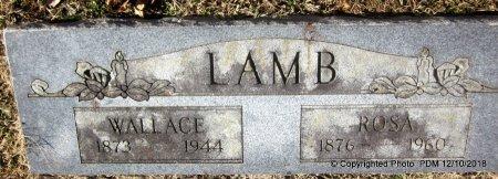 LAMB, WALLACE - Sequoyah County, Oklahoma | WALLACE LAMB - Oklahoma Gravestone Photos