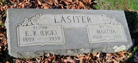 LASITER, MARTHA JANE - Sequoyah County, Oklahoma | MARTHA JANE LASITER - Oklahoma Gravestone Photos