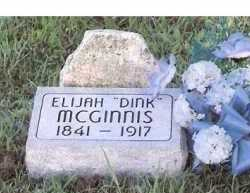 "MCGINNIS, ELIJAH  ""DINK"" - Sequoyah County, Oklahoma 