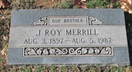 MERRILL, J  ROY - Sequoyah County, Oklahoma | J  ROY MERRILL - Oklahoma Gravestone Photos