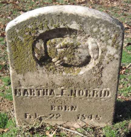 ROGERS NORRID, MARTHA E - Sequoyah County, Oklahoma   MARTHA E ROGERS NORRID - Oklahoma Gravestone Photos