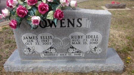 OWENS, JAMES ELLIS - Sequoyah County, Oklahoma | JAMES ELLIS OWENS - Oklahoma Gravestone Photos
