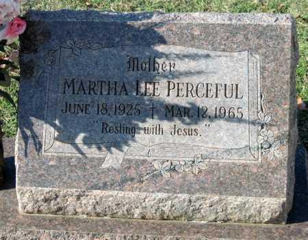 CLIMER PERCEFUL, MARTHA LEE - Sequoyah County, Oklahoma | MARTHA LEE CLIMER PERCEFUL - Oklahoma Gravestone Photos