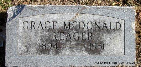 REAGER, GRACE - Sequoyah County, Oklahoma | GRACE REAGER - Oklahoma Gravestone Photos