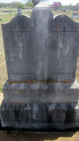 REED, ELIZABETH - Sequoyah County, Oklahoma   ELIZABETH REED - Oklahoma Gravestone Photos