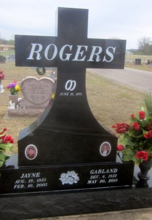 ROGERS, GARLAND - Sequoyah County, Oklahoma   GARLAND ROGERS - Oklahoma Gravestone Photos