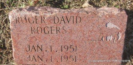 ROGERS, ROGER DAVID - Sequoyah County, Oklahoma | ROGER DAVID ROGERS - Oklahoma Gravestone Photos