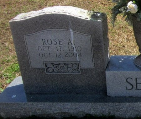 SELLS, ROSE A(CLOSEUP) - Sequoyah County, Oklahoma | ROSE A(CLOSEUP) SELLS - Oklahoma Gravestone Photos