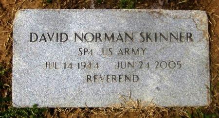 SKINNER, DAVID NORMAN  (VETERAN) - Sequoyah County, Oklahoma | DAVID NORMAN  (VETERAN) SKINNER - Oklahoma Gravestone Photos