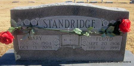 STANDRIDGE, MARY - Sequoyah County, Oklahoma | MARY STANDRIDGE - Oklahoma Gravestone Photos