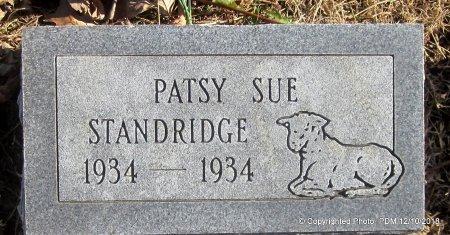 STANDRIDGE, PATSY SUE - Sequoyah County, Oklahoma | PATSY SUE STANDRIDGE - Oklahoma Gravestone Photos