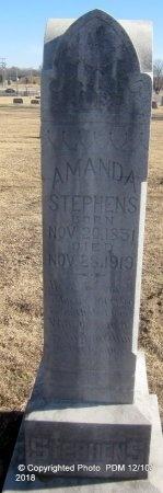 WORSHAM STEPHENS, AMANDA - Sequoyah County, Oklahoma | AMANDA WORSHAM STEPHENS - Oklahoma Gravestone Photos